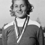 Olga Gyarmati--Prima campioană olimpică la săritura în lungime